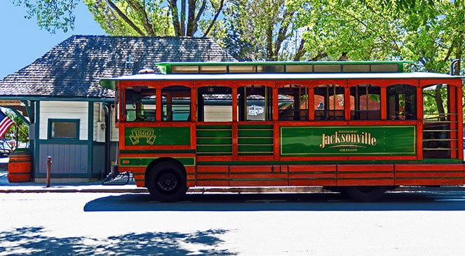 Jacksonville, Oregon Trolley