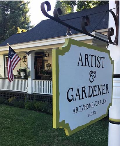 Artist and Gardener